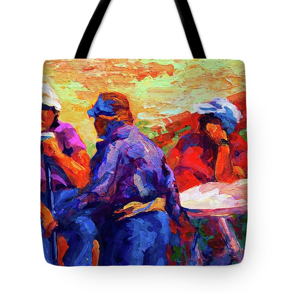 Italian Retirement Tote Bag