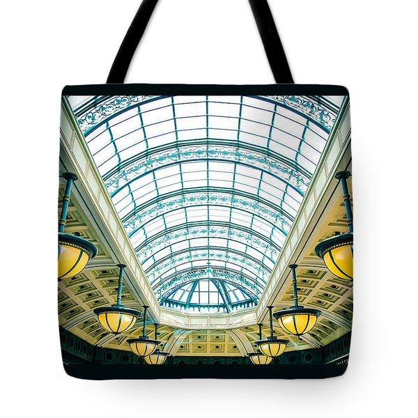 Italian Skylight Tote Bag by Bobby Villapando