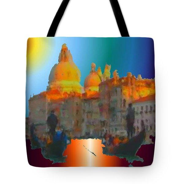 Italian Sunrise Tote Bag
