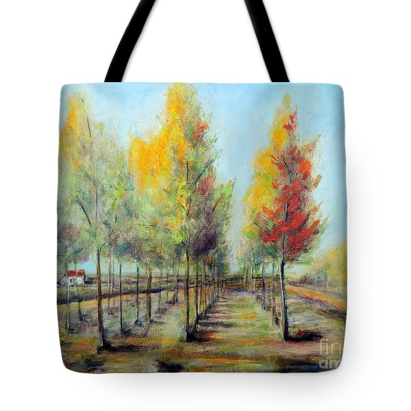Italian Tree Farm Tote Bag