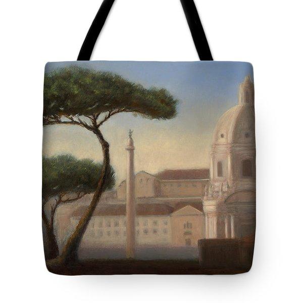 Italian Trees Tote Bag