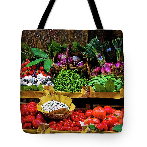 Italian Vegetables  Tote Bag by Harry Spitz