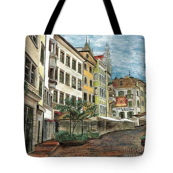 Italian Village 1 Tote Bag by Debbie DeWitt