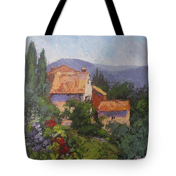 Italian Village Tote Bag