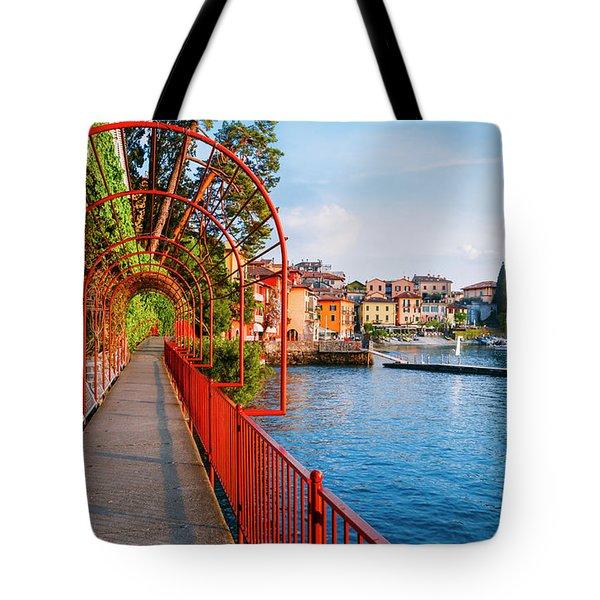 Italian Walk Of Love  Tote Bag