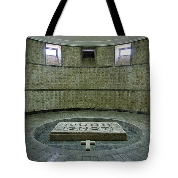 Tote Bag featuring the photograph Italian World War One Shrine #2 by Stuart Litoff