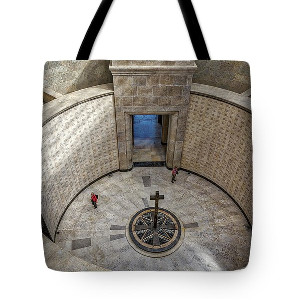 Tote Bag featuring the photograph Italian World War One Shrine #3 by Stuart Litoff