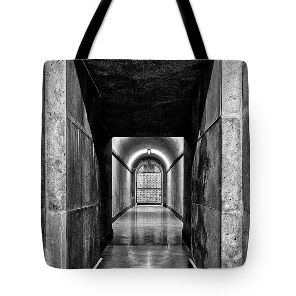 Tote Bag featuring the photograph Italian World War One Shrine #4 by Stuart Litoff