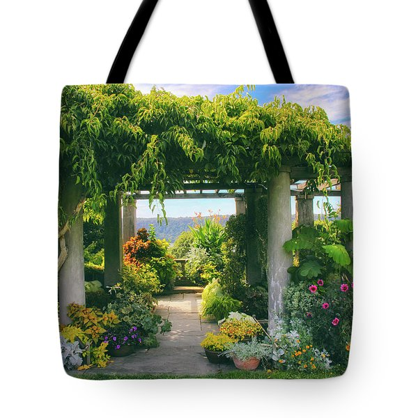 Italianate Terrace Tote Bag by Jessica Jenney