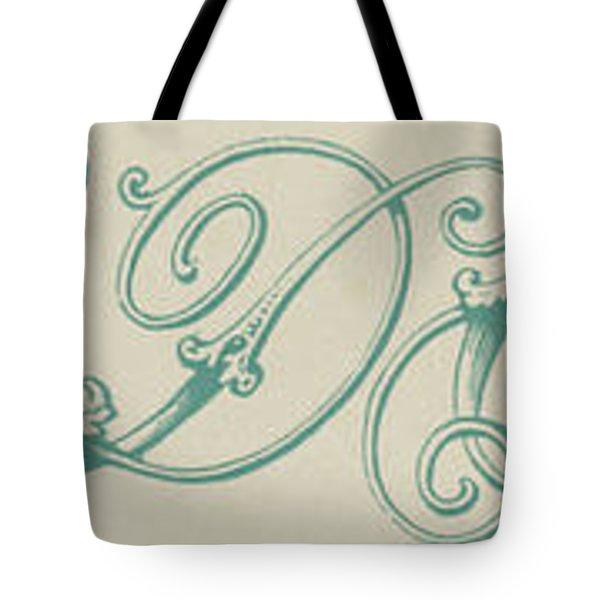 Italic Tote Bag