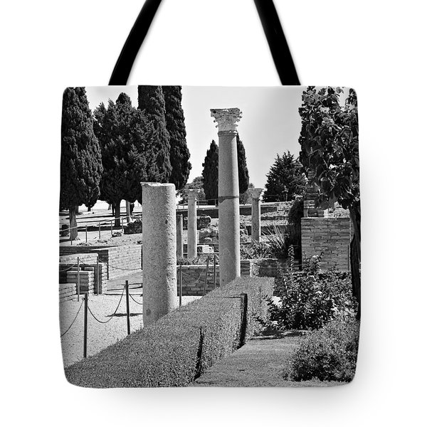 Tote Bag featuring the photograph Italica, Spain by Cendrine Marrouat