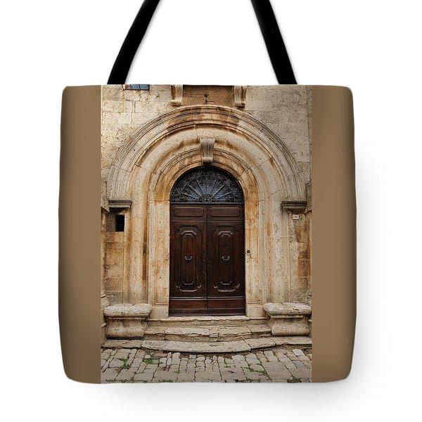Italy - Door Eighteen Tote Bag
