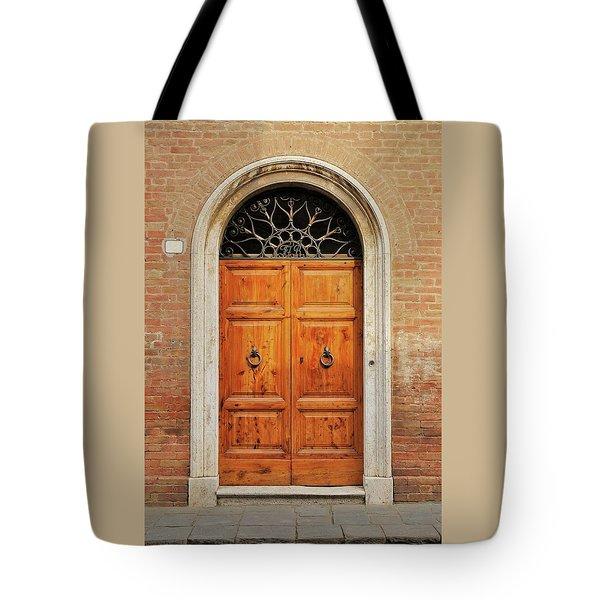 Italy - Door Fifteen Tote Bag