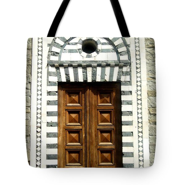 Italy, Door, Florence, Firenze Tote Bag