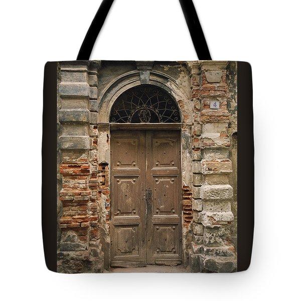 Italy - Door Four Tote Bag