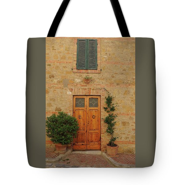 Italy - Door Nine Tote Bag