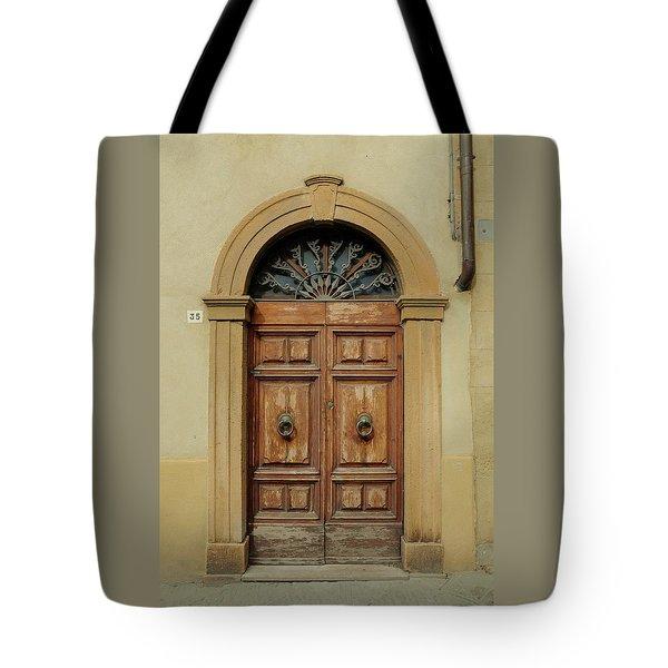Italy - Door One Tote Bag