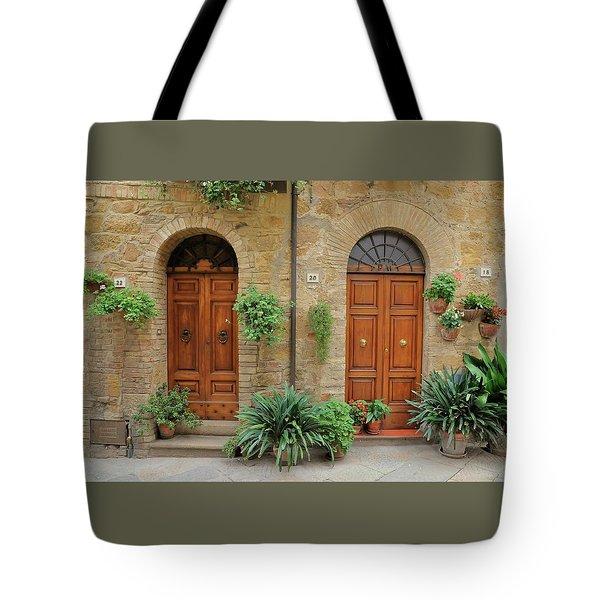 Italy - Door Seventeen Tote Bag