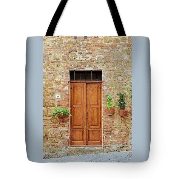 Italy - Door Six Tote Bag