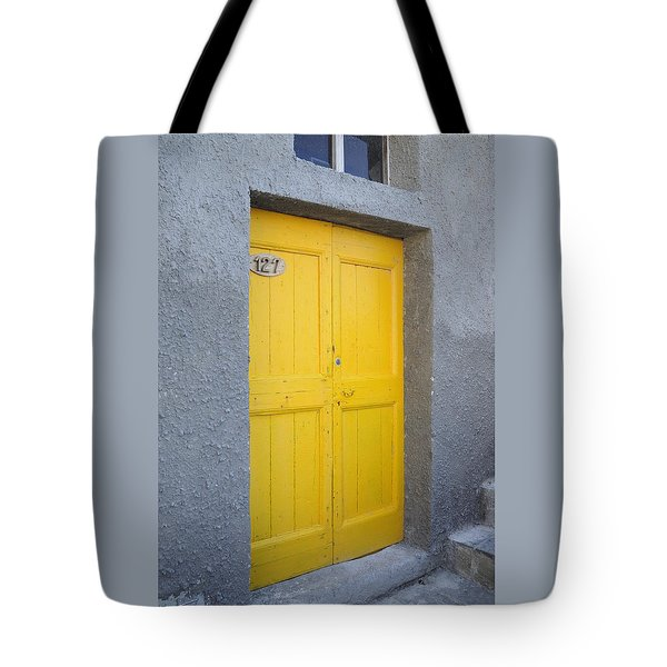 Italy - Door Three Tote Bag