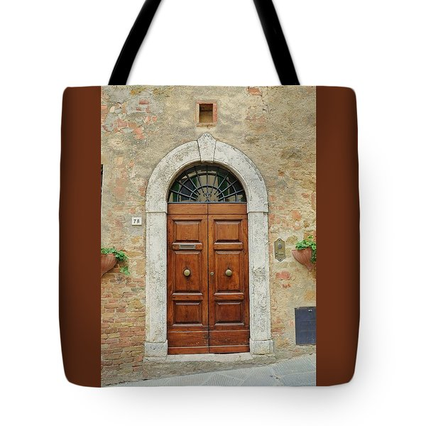 Italy - Door Twelve Tote Bag