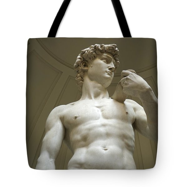 Italy, Florence, Statue Of David Tote Bag