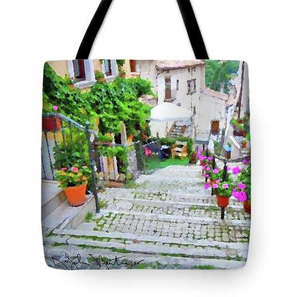 Italy In The Spring  Tote Bag