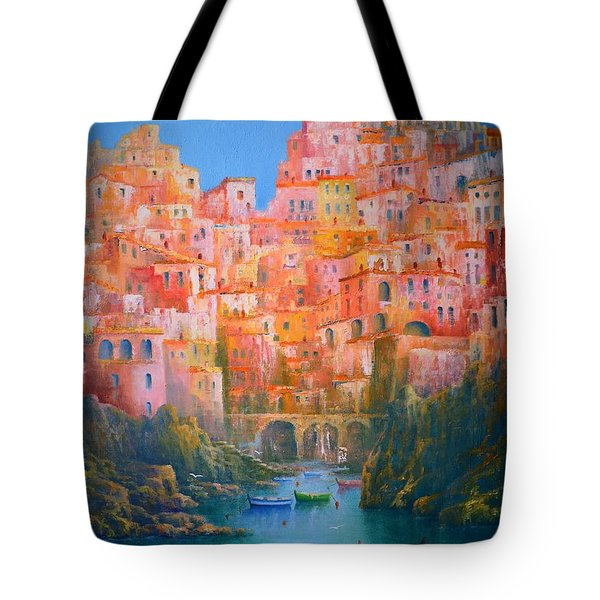 Impressions Of Italy   Tote Bag