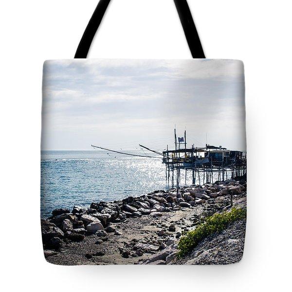 Italy - The Trabocchi Coast 2  Tote Bag