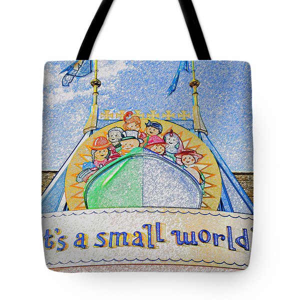 It's A Small World Entrance Original Work Tote Bag