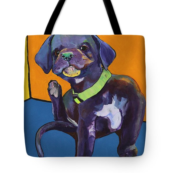 Itchy Tote Bag by Pat Saunders-White