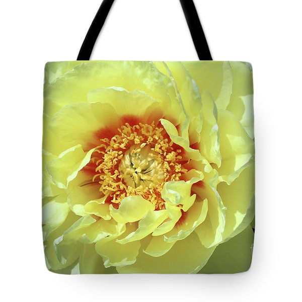 Itoch Peony  Tote Bag