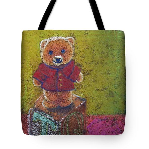 It's A Bear's World Tote Bag by Tracy L Teeter