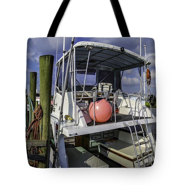It's A Beautiful Day Tote Bag by David Smith