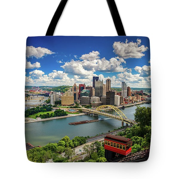 Tote Bag featuring the photograph It's A Beautiful Day In The Neighborhood by Emmanuel Panagiotakis