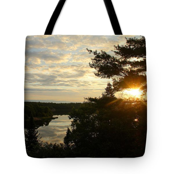 Tote Bag featuring the photograph It's A Beautiful Morning by Debbie Oppermann