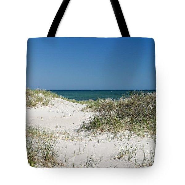 It's A Cape Cod Kind Of Day Tote Bag by Michelle Wiarda