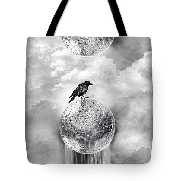 It's A Crow's World Tote Bag