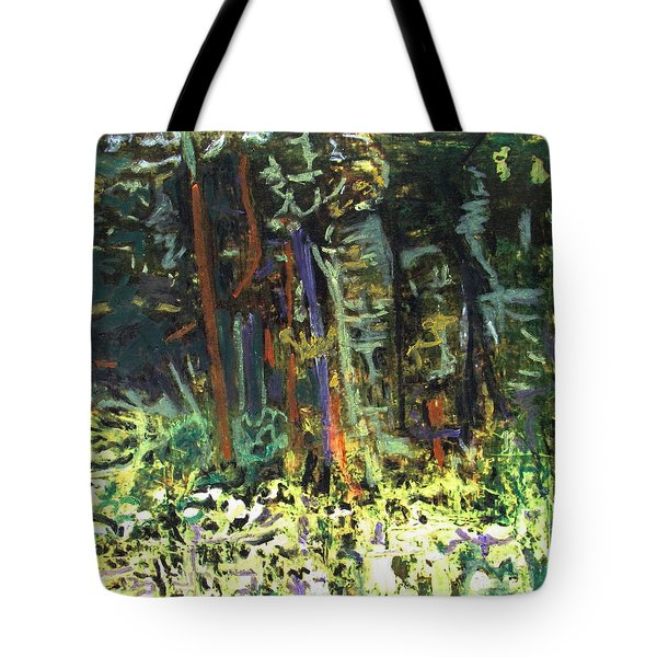 It's A Jungle Out There Tote Bag by Betty Pieper