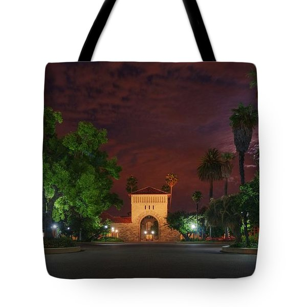 It's A Red Sky Night, Breathe It In Tote Bag