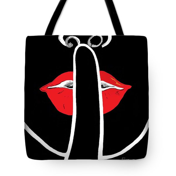 It's A Secret Tote Bag by Eloise Schneider