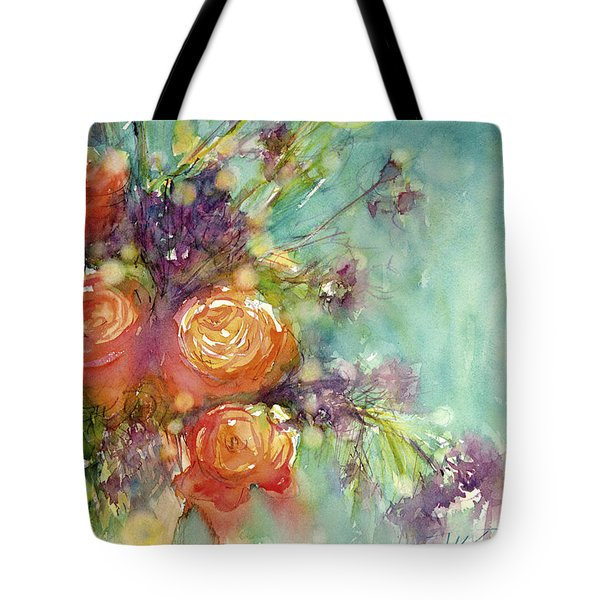 It's A Teal World Tote Bag