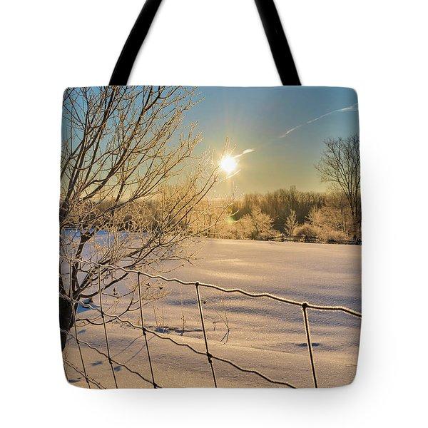 It's A Warm Cold... Tote Bag