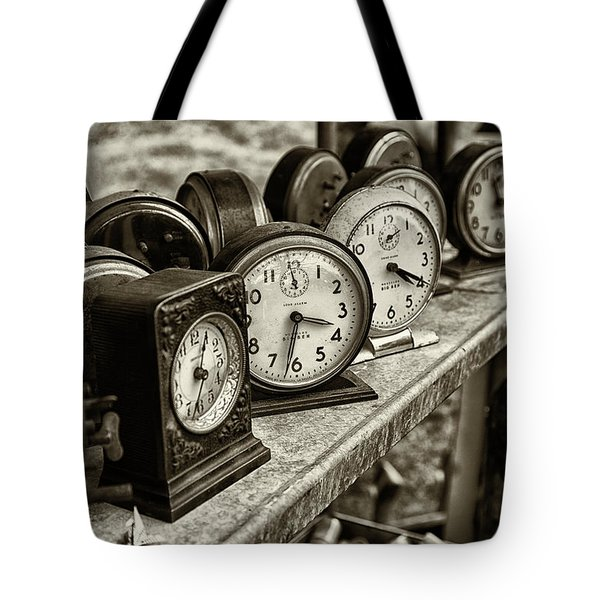 It's About Time Tote Bag