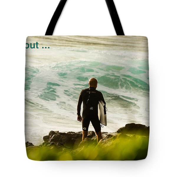 Tote Bag featuring the photograph It's All About ... Focus by MaryJane Armstrong