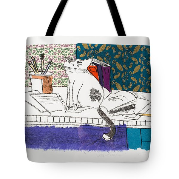 Its All About Me Tote Bag by Leela Payne