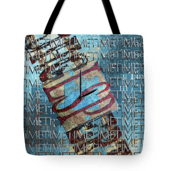Its All About Time Tote Bag