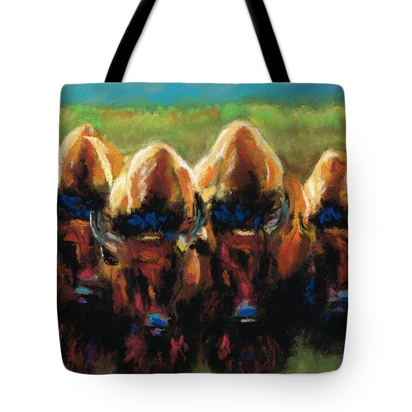Its All Bull Tote Bag by Frances Marino