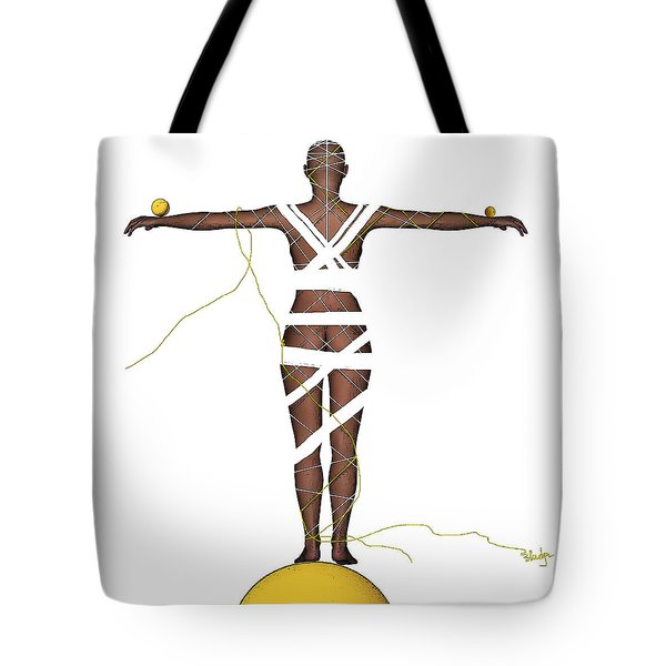It's All In Your Head Tote Bag by Sladjana Lazarevic