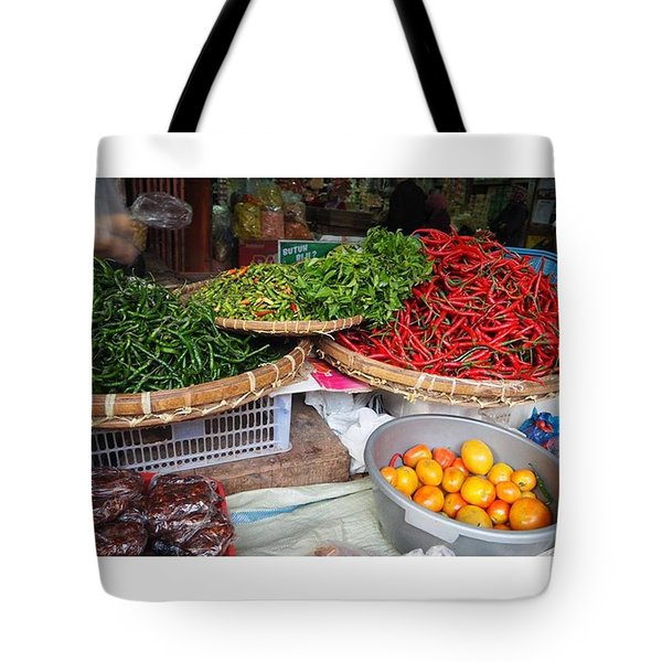 Spicy Chili Tote Bag